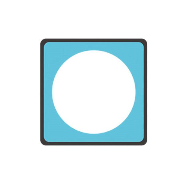R-101모양펀치 ReZo 45000포코스 모양펀치 만들기 꾸미기, 1개, 원(021)