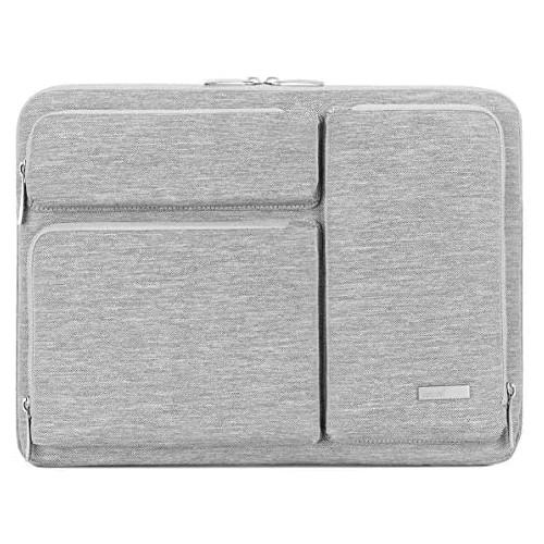 노트북 파우치 Lacdo 15.6 Inch Laptop Sleeve Computer Case for 15.6 Inch Acer Aspire 5 E 15 Predator Helios 300 Flagship Inspiron Ideapad 330 HP Pavilio, Size = 15 & 16 Inch New MacBook Pro | Color = Black