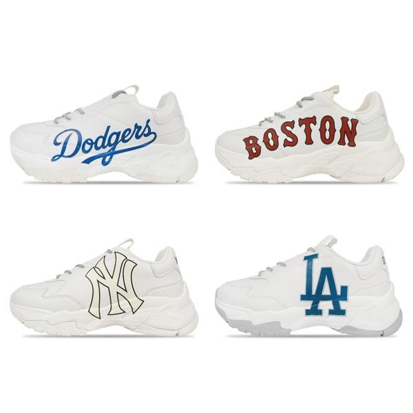 MLB MLB 운동화 LA다저스/뉴욕양키스/보스턴 레드삭스 빅볼청키 어글리슈즈 4종택1