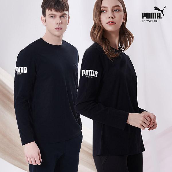 [TOP] 푸마 무형광 코튼 언더셔츠 1종 블랙