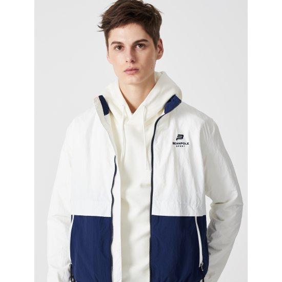 빈폴스포츠 화이트 남성 배색 요트 재킷 (BO9139D061)
