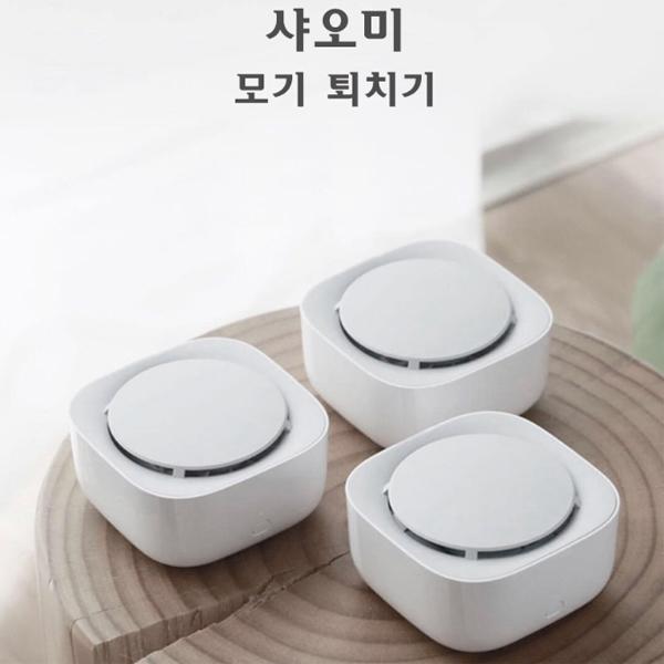 샤오미 미지아 모기퇴치기 / 가정용 모기퇴치기, 본체3개세트