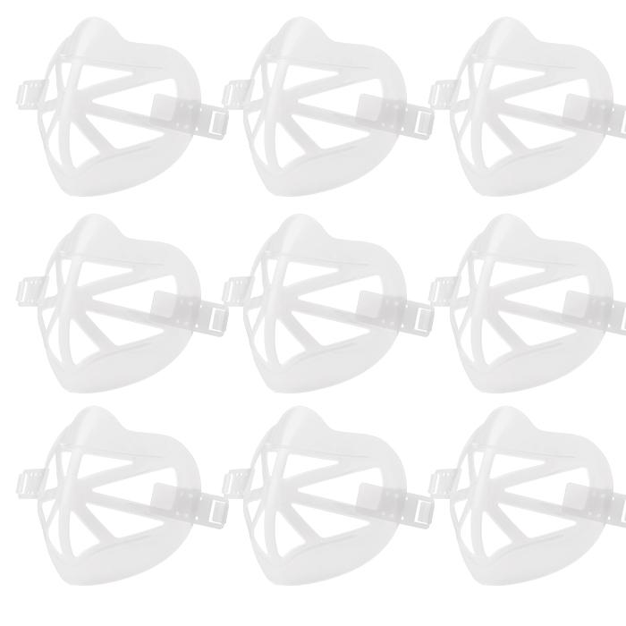 숨쉬기 편한 마스크 가드 지지대 10개입 국내발송, 화이트