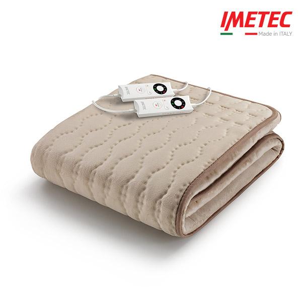 이메텍 [신상품] 이탈리아 프리미엄 소프트 밍크(베이지) 전기요 더블 IMO-664