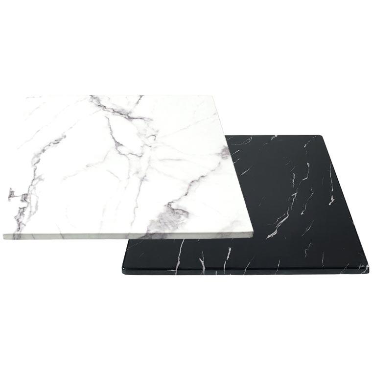GM퍼니처 인조대리석 600x600 카페테이블 상판 [하부 미포함], 인조대리석 600사각_화이트