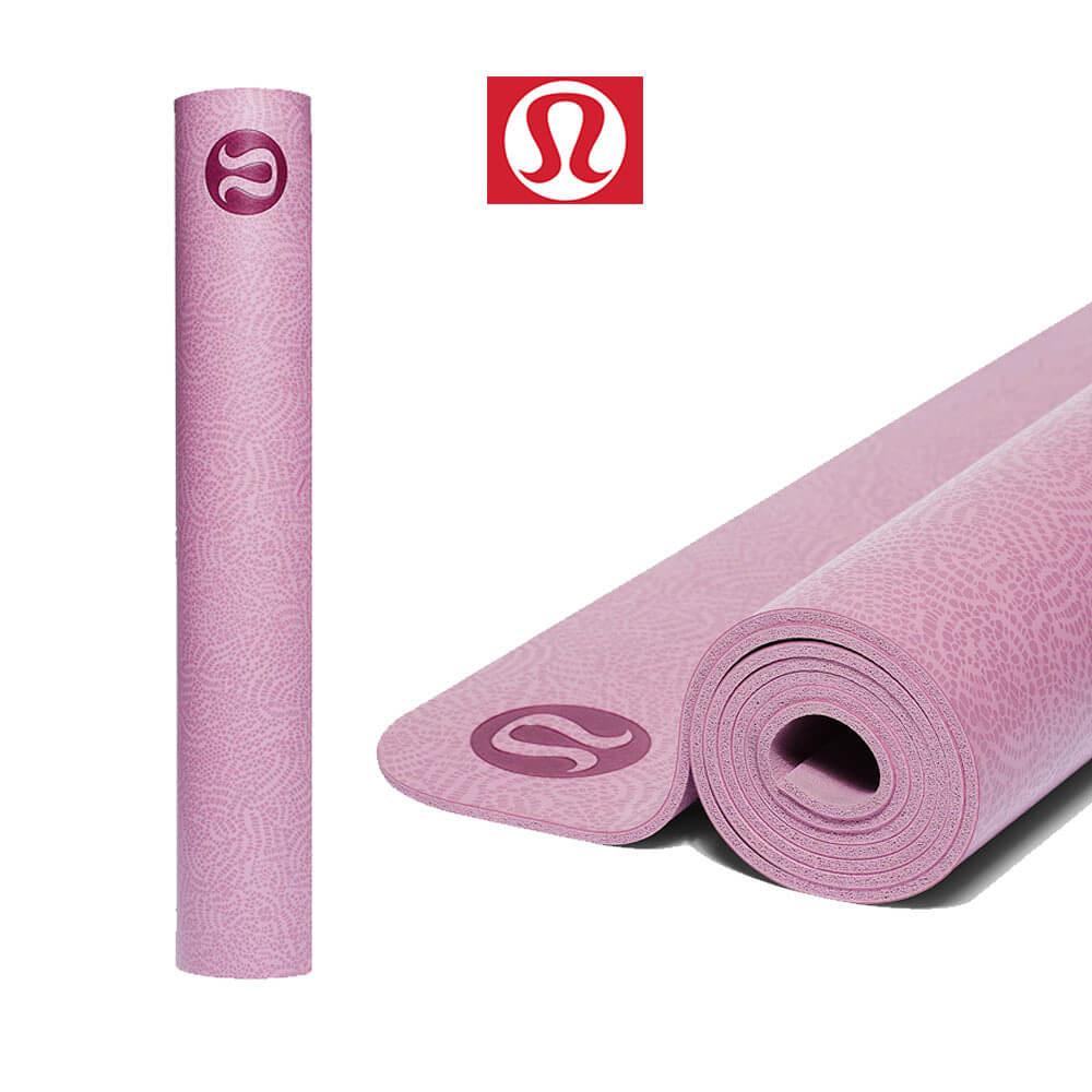 룰루레몬 요가매트 어라이즈 핑크 매트 Made with FSC-Certified Rubber, Filigree Print Pink