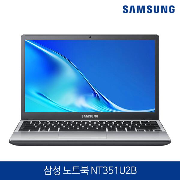 삼성전자 노트북 NT351U2B 블랙 가볍고 슬림한 1.4kg 정품 윈도우10 탑재, 4GB, SSD 120GB, 포함