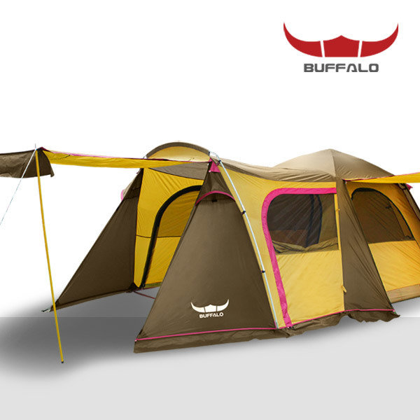 [버팔로(레저)] 버팔로 뉴 그랜드 오토텐트/6인용/2000mm내수압/확장형 전실/가족형, 상세 설명 참조, 제품선택:버팔로 뉴 그랜드 오토 텐트
