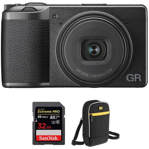 Ricoh Ricoh GR III Digital Camera with Accessories Kit, 상세내용참조