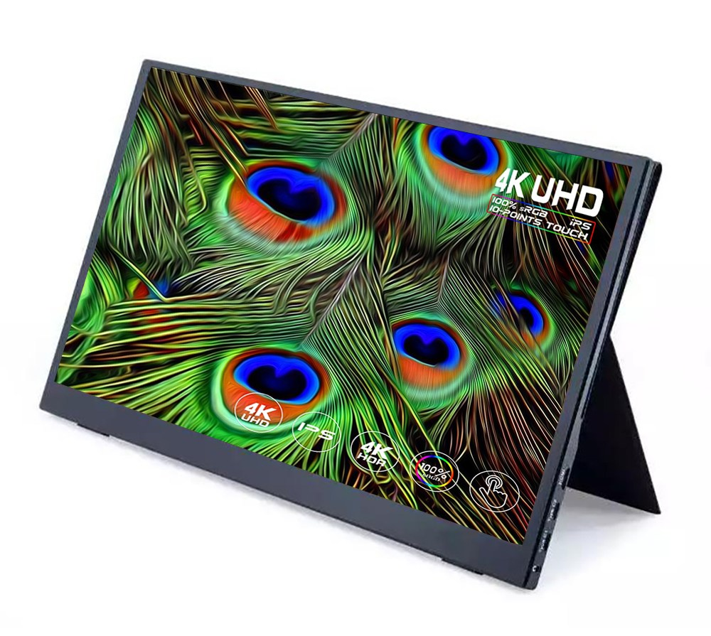 Super thin IPS touch screen HD 15.6 inch Portable dual laptop Computer LCD mini Monitor gaming with, 15.6 _1920x1080 | SJD-1506-01 (POP 5734219955)