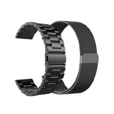 갤럭시 워치 기어 시계 밴드 지상 삼성 갤럭시 워치 밴드 액티브 범용 lte 스마트워치 밴드 42mm/46mm 밀라노니스 스테인리스 스틸, 01 밀라노블랙, 01 42mm 삼성 갤럭시 워치 밴드