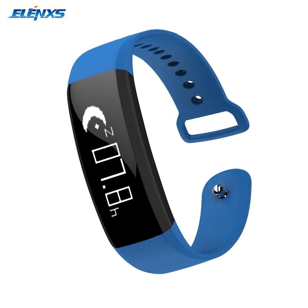 방수 m89 혈압 모니터 손목 밴드 실시간 심박수 모니터 및 알림, 단일, 1