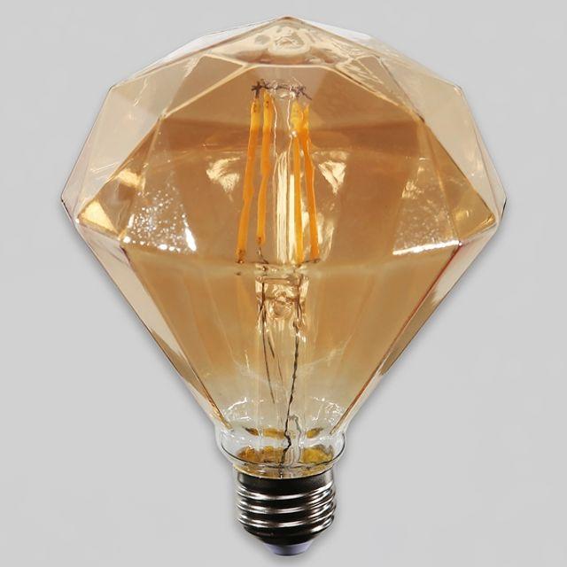[제이크루샵]W39E4E9 LED 전구 에코 다이아 4W E26 조명 전등 벽등 무드등 상품설명 필수확인, 1개, 1개
