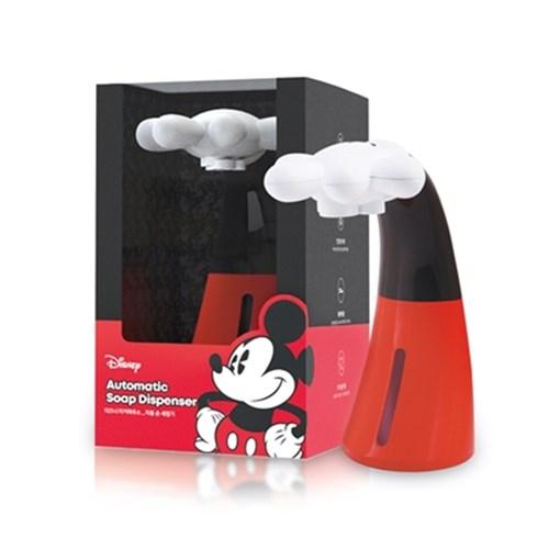 아트박스/디셈 [디즈니] 미키마우스 자동 손세정기 핸드워시 디스펜서 + 전용 세정액 세트, 미키 자동 손세정기와 전용세정제 세트