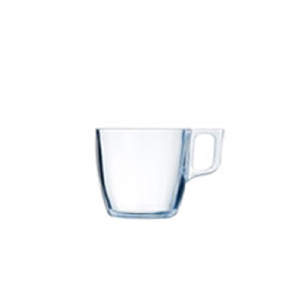 루미낙 유리잔 커피잔 물컵 누에보 머그컵 90ml x 2p, 2개입