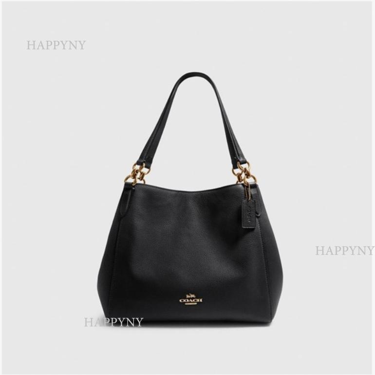 코치 [HAPPYNY]COACH_80268 HALLIE SHOULDER BAG(BLACK)