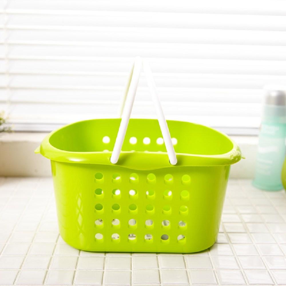 [AHW_0812236] 웨이브목욕바구니 소-색상랜덤발송 목욕바구니 욕실정리바구니 미니욕실바구니 욕실바구니 플라스틱바구니 (POP 224596781)