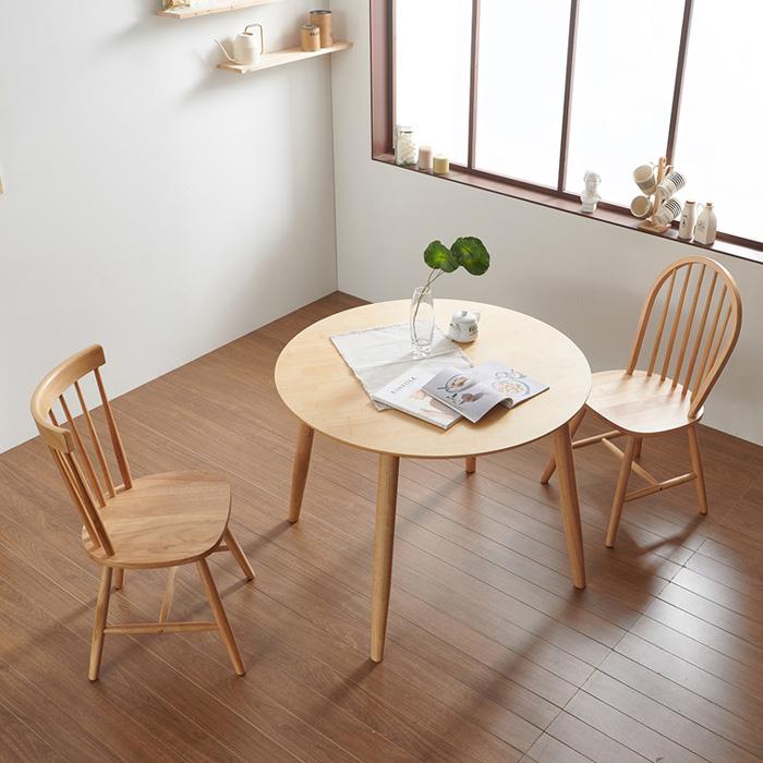 """나무뜰 보노 원형 원목 식탁 카페 테이블 GMF067 식탁/테이블></noscript>>식탁, 내추럴"""" /></noscript          ></a> </p> <p> <span class="""