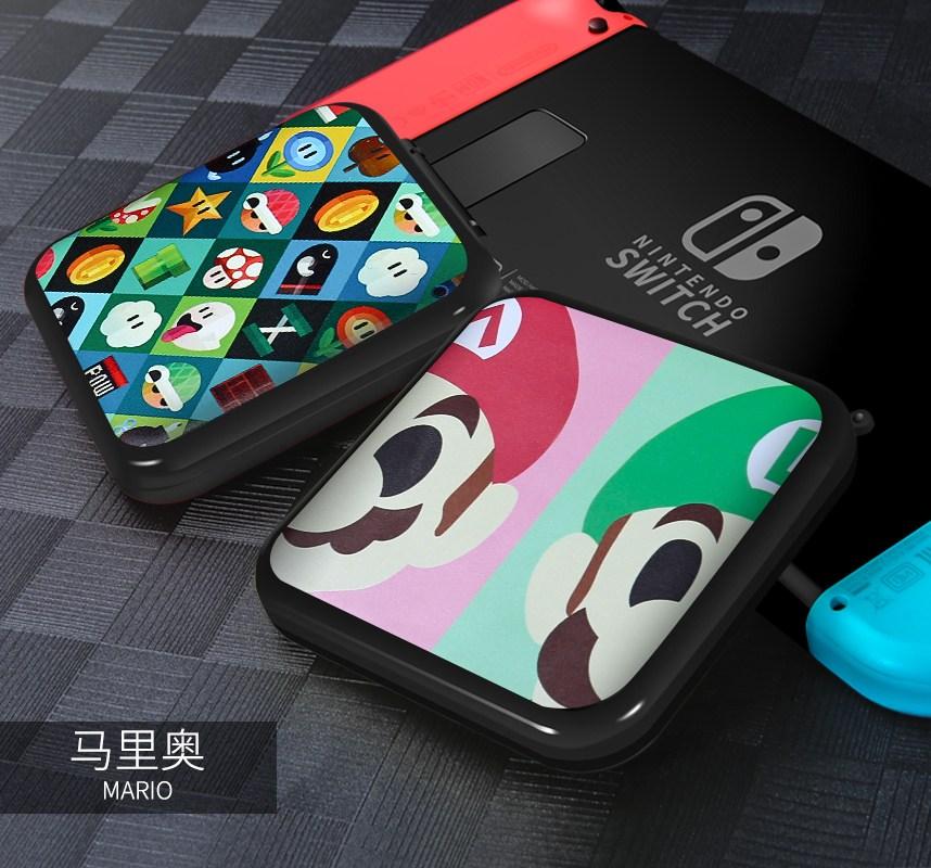 닌텐도 스위치 Enoch Nintendo 스위치 액세서리 게임기 수납 가방 호스트 게임 카드 가방-20740, 단일옵션, 옵션11