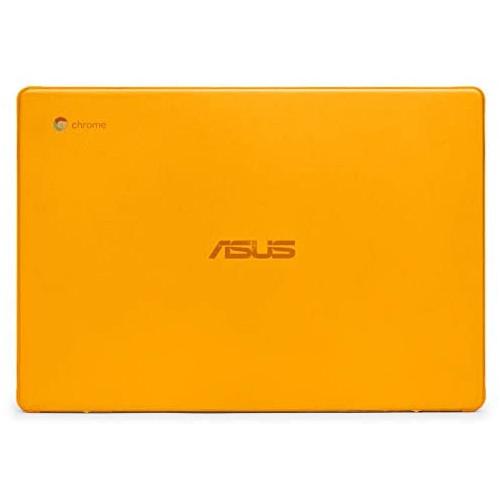 노트북 파우치 mCover Hard Shell Case for 2019 14-inch ASUS Chromebook C423NA Series Laptop - ASUS C423 Aqua, Color = Orange