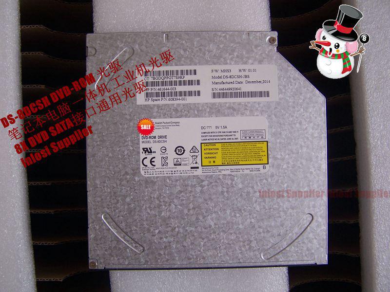 DVDROM DS-8DCSH SATA DVD-ROM노트 일체형 공업 본체 통용 CD롬, 기본