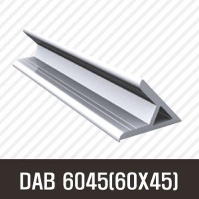 앵글DAB 6045(60X45) 50mm/ 100mm/ 200mm/ 500mm/ 1000mm/ 1500mm/ 2000mm/앵글/프로파일 부품/ 프로파일/ 알미늄/ 대영, 50mm