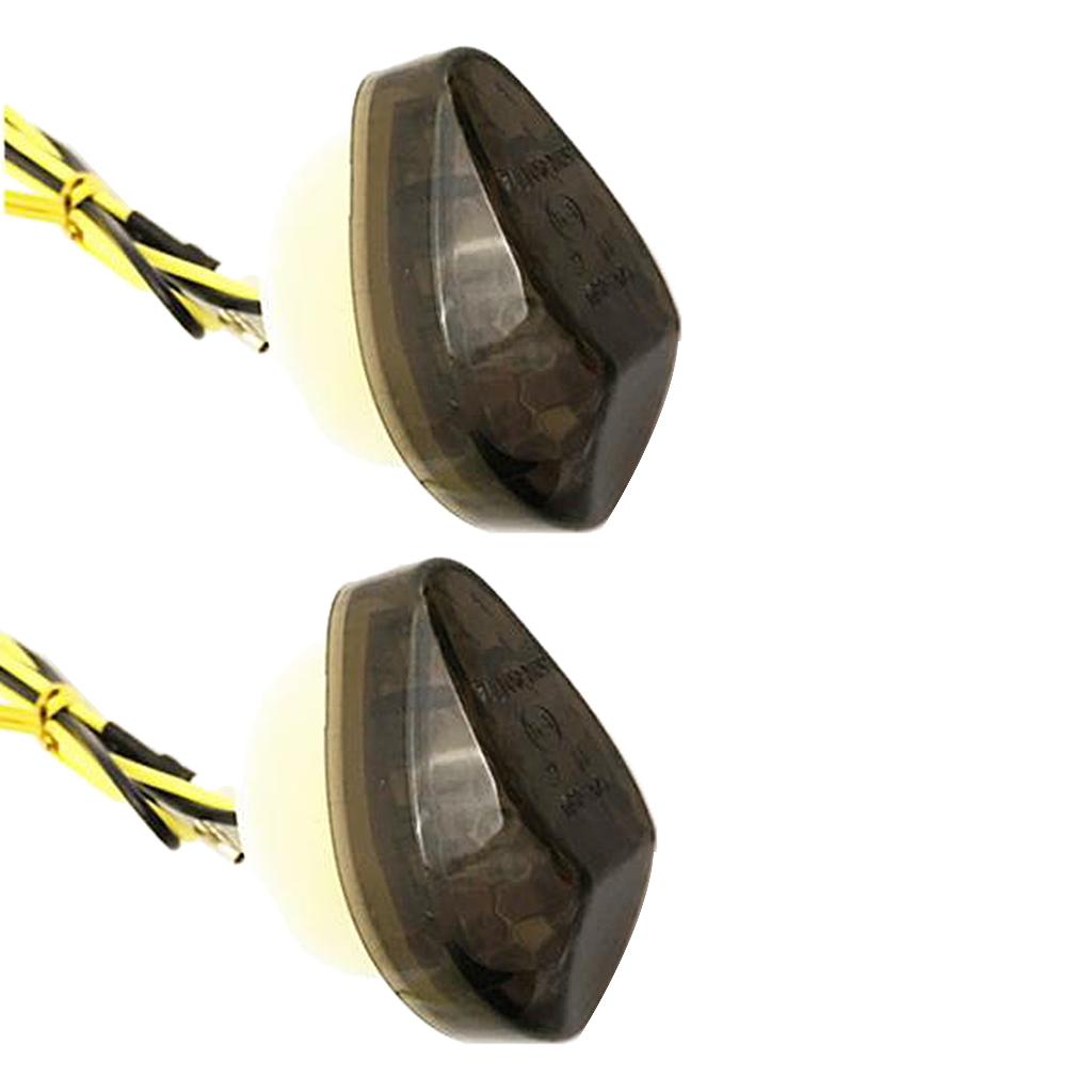 QDY LED 방향 지시등 오토바이 LED 깜박이는 혼다 자동차 부품 LED 표시 등