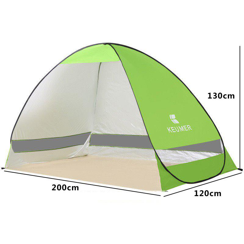 이끌림 윈프레드 패스트캠프 캠핑 텐트, 없음, 그린