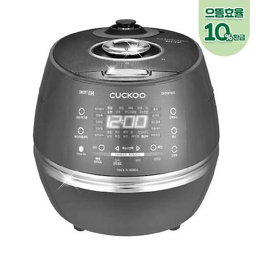 쿠쿠 (으뜸효율환급모델) 6인용 IH압력 스테인리스내솥 1등급 CRP-DHP0610FD, 단일상품