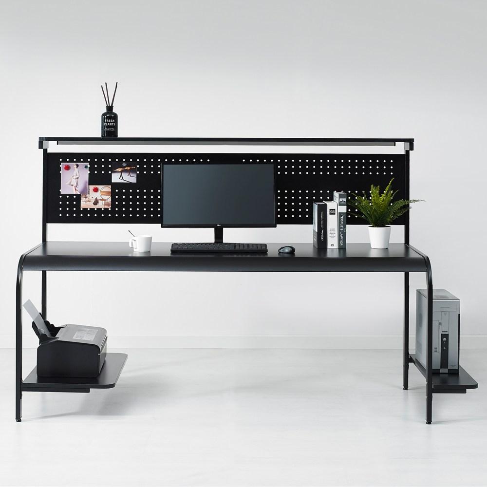 누마 델타C형 게이밍 컴퓨터 책상, 델타C형-1800/블랙