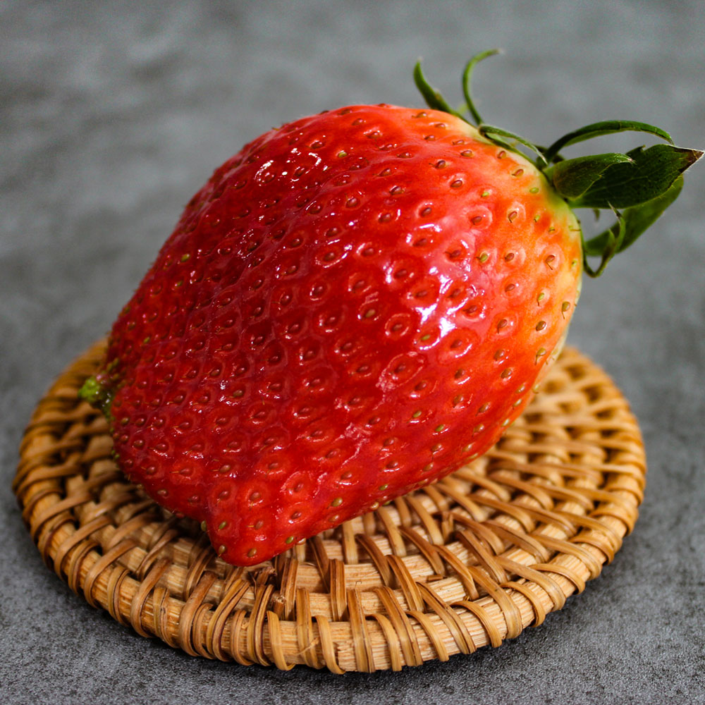 안녕이네 논산 킹스베리 딸기 대왕, 1박스, 1kg(개65g이상)