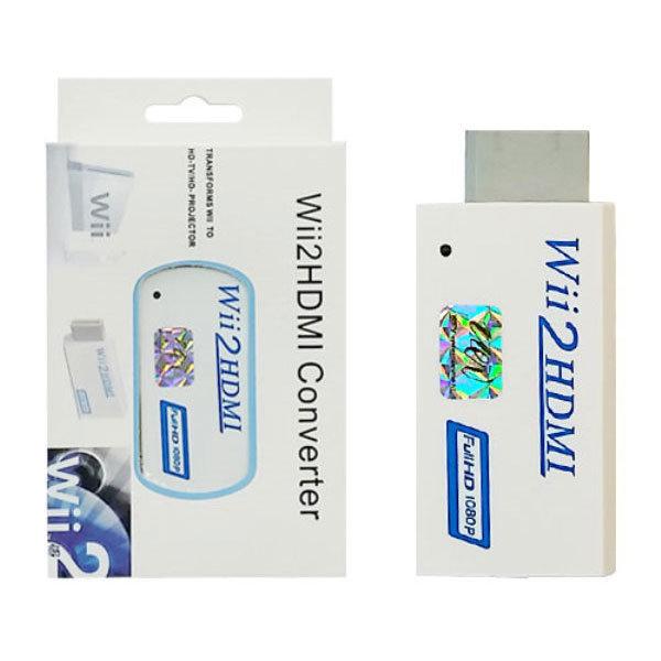 닌텐도 위 Wii to HDMI 1080p 변환 컨버터