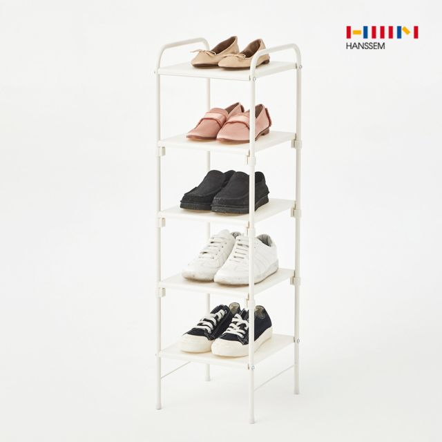 [천삼백케이] [한샘] 바이스 신발 정리대 화이트, 01.바이스 신발 정리대 화이트