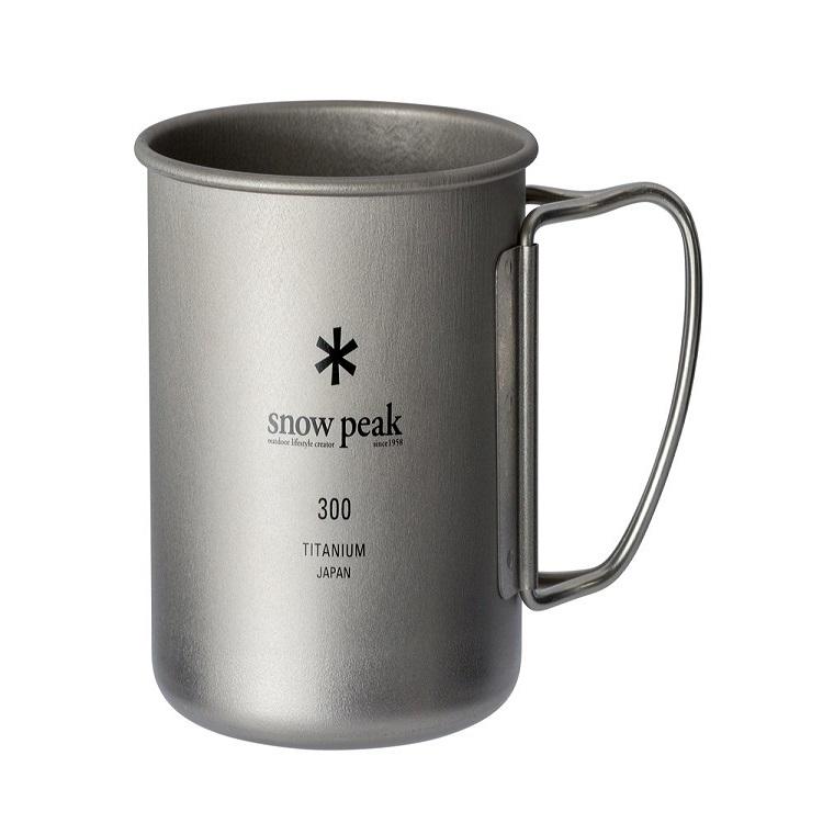 스노우피크 티탄 싱글 머그컵, 300ml