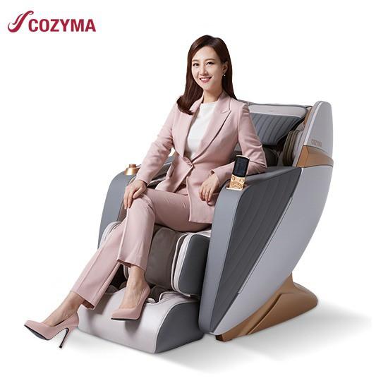 코지마 안마의자 뉴트로W+의자형 안마의자 큐빅