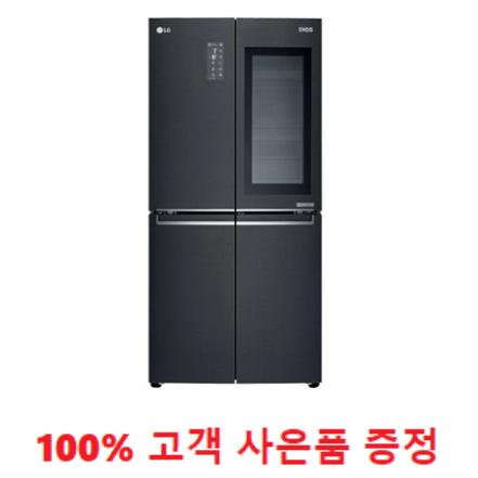 사은품증정/LG 디오스 노크온 매직스페이스 세미빌트인 냉장고 530L (F531MC75) 1666-4175