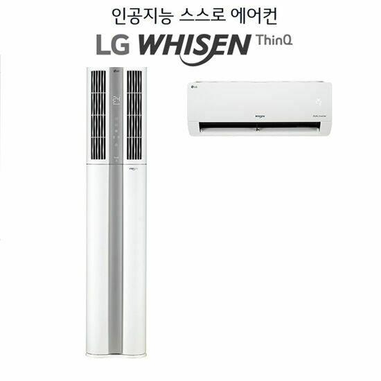 LG 휘센 듀얼 에어컨 빅토리 FQ18VBDWA2 18형 2in1 웨딩스노우_특, 단품