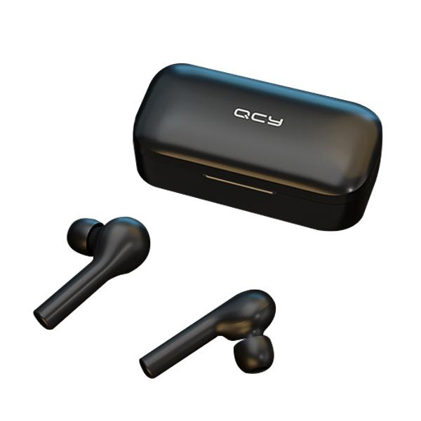 QCY T5 블루투스 이어폰 4세대 재고 충분 블루투스이어폰, 블랙, QCY-T5