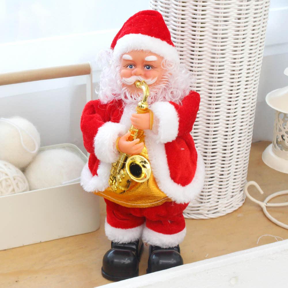 춤추는 산타인형 인테리어소품 크리스마스 산타클로스, 단품