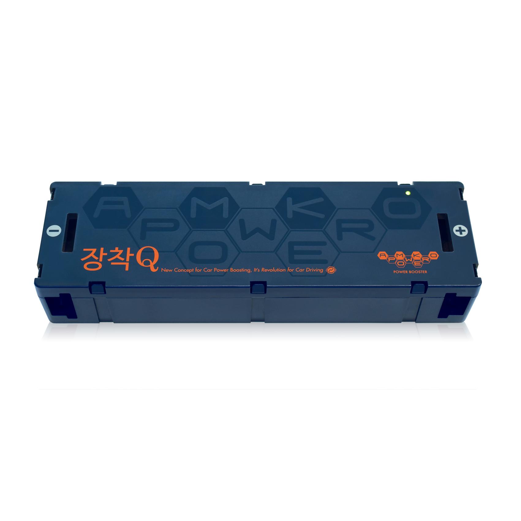 암코파워 장착Q 1세대 2세대 3세대 파워플러스일반버젼 블랙박스보조배터리 연비절감 출력증강 복합밸런싱 방전걱정무, 3세대보급