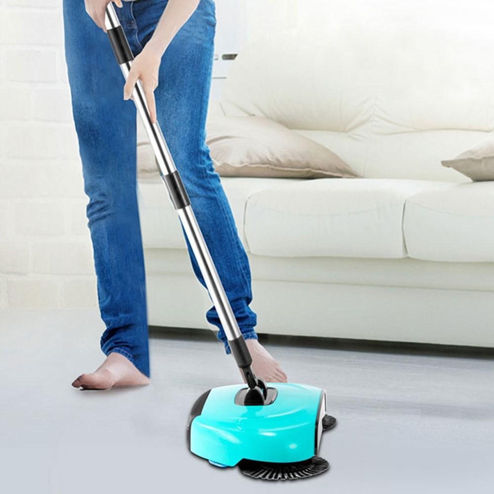 저렴한 가성비 자취방 원룸 물걸레겸용 청소기, 레드, 깔끄미 청소기