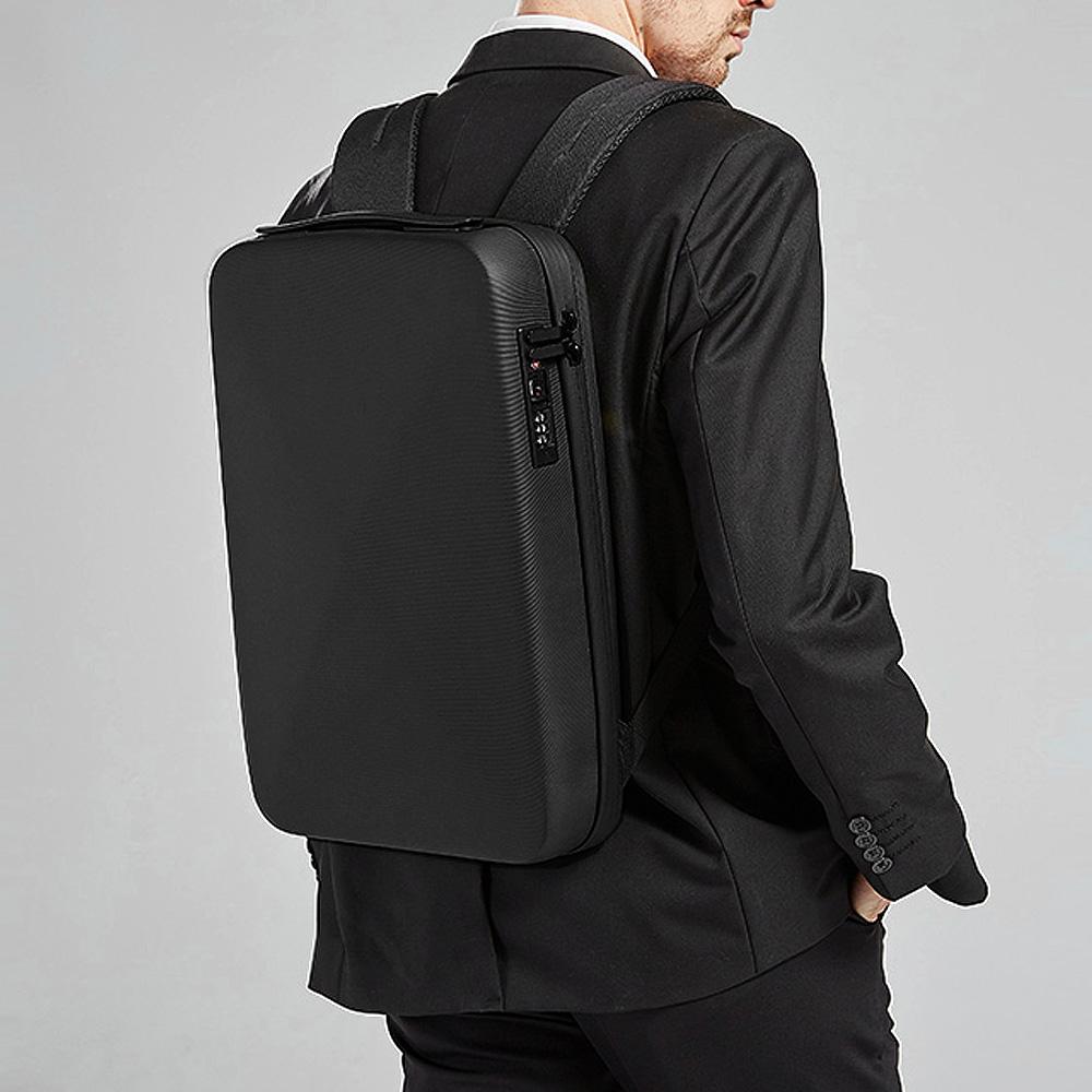 BANGE 벤지 직장인 초슬림 비지니스 EVA 하드케이스 노트북 서류 백팩 BG-2092