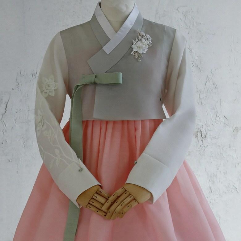 [비비한복] [한복대여] 꽃다지 한복 세트