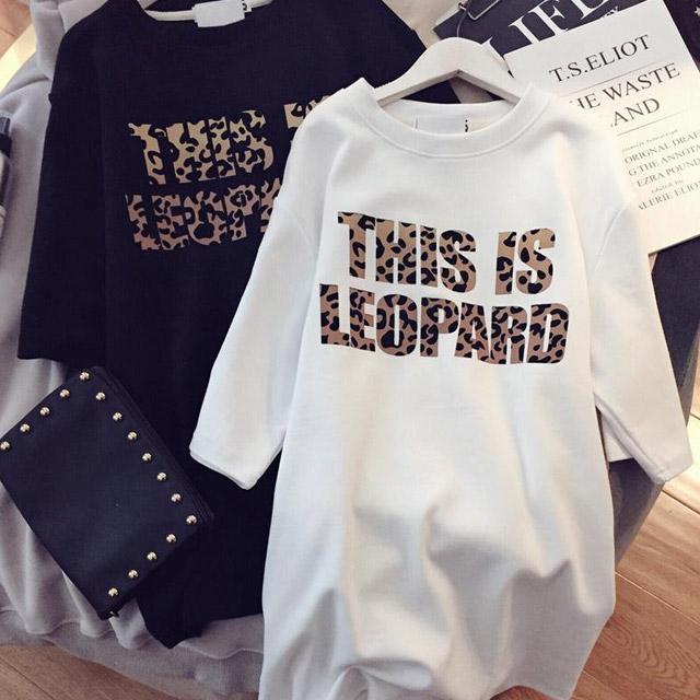 엘레스 여성 티셔츠 박시핏 자체제작 2개 세트 반팔