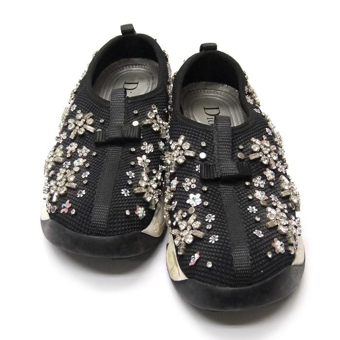 [뉴욕명품] Dior(크리스챤디올) 신발 크리스탈 비즈 퓨전 스니커즈 34.5
