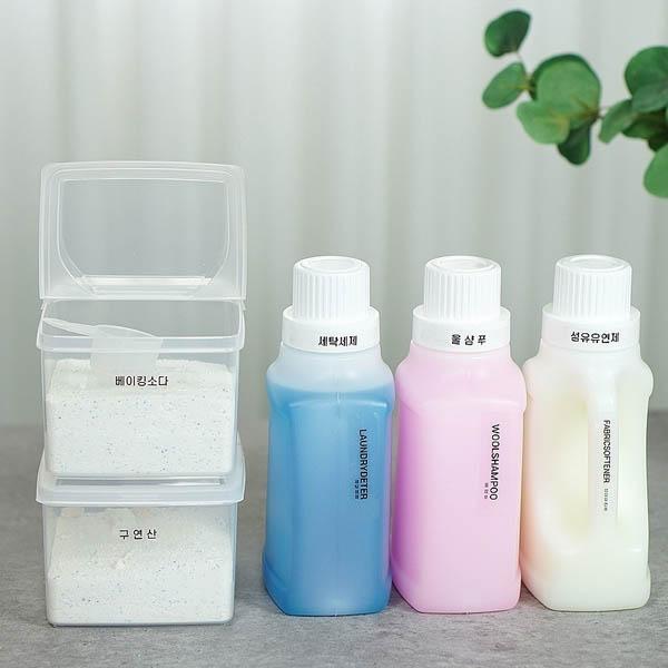 [메이앤홈] 가루 세제용기 세제소분용기