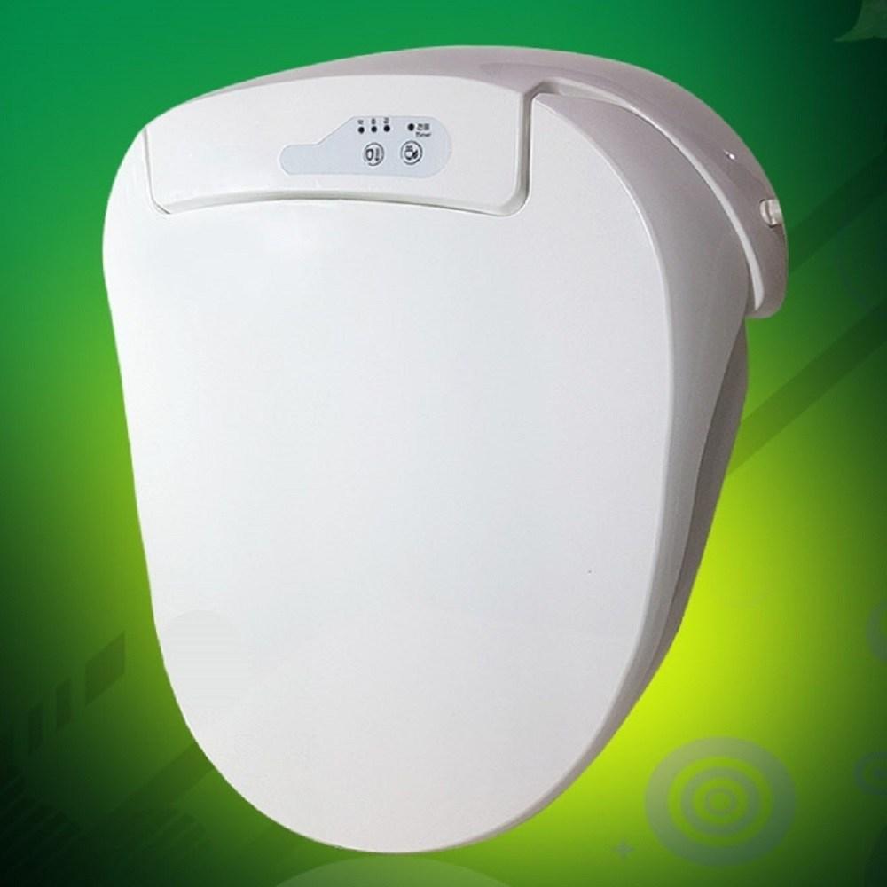 YOYO 온열변기커버 비데 화장실용품 욕실용품 변기커버, 화이트, 1개