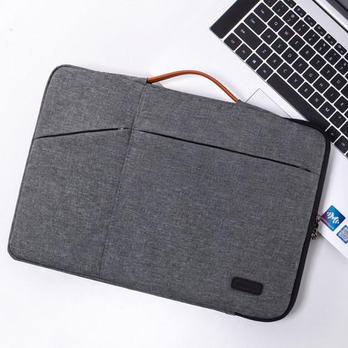 노트북 라이너 가방 레노버 15.6 인치 15 보호기 Y7000P Xiaoxin Air13 충격 방지 Pro13.3 보호 커버 14 가방 맥북 애플 맥 12 화웨이 ipad, 선택 = 13.3 인치 2 세대 휴대용 (회색)