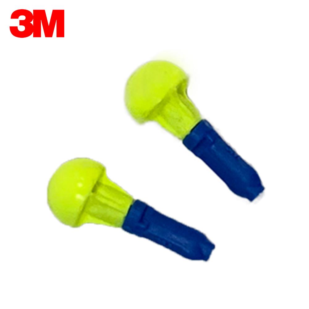 3M 푸쉬인 소음방지 손잡이 귀마개 28dB, 20개