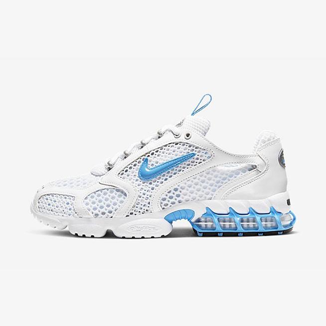 나이키 줌 스피리돈 케이지2(W) 유니버시티 블루 Nike Air Zoom Spiridon Cage 2 Stussy UNC Blue 류씨네 류씨네편집샵